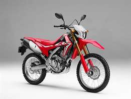 2017 Honda CRF250L only