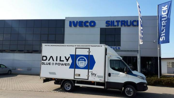 Iveco DAILY 35C14G - 2018