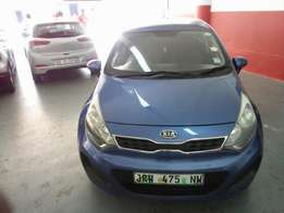 2012 Kia Rio 1.4, Color Blue, Prince R110,000.