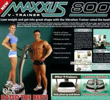 Maxuss V trainer 800. - excellent fitness and weight loss machine
