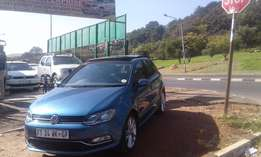 2016 vw polo 1.2 tsi dsg for sale