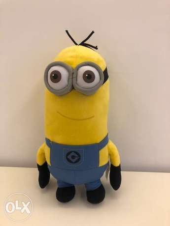 Minion from Despicable Me 2 brand. Size 36cm height x 20cm wide