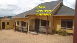 2bedroom house for rent in Namugongo at 500k