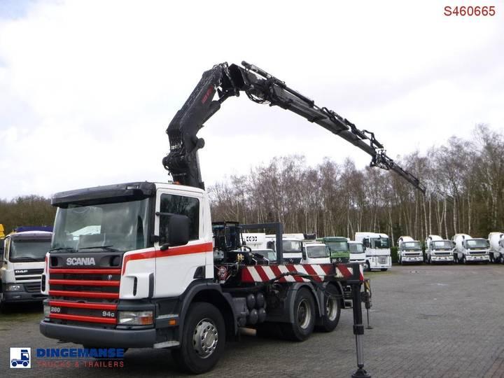 Scania P94 GB 6x2 + Fassi F380A.24 + Jib L324 - 2001