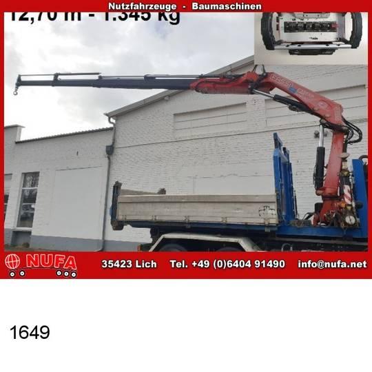 Fassi andere abrollcontainer mit  kran f 235 axp 24. - 2008