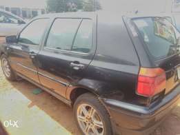Clean Golf 3 saloon car