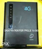 zain 4g router for sell unlock