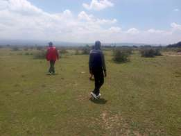 50*100m land  plots for along Mutaita - Jogoo road touching the tarmac
