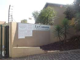 A stunning 2 bedroom flat for rental at Pretoria West.May