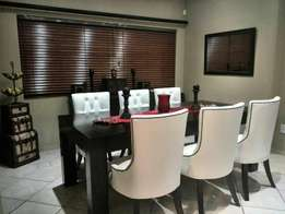 Dining set in different colours