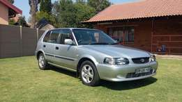 Toyota Tazz 1.6 xe with service history!.