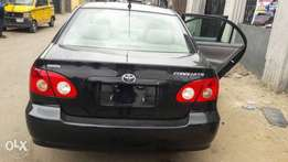 Direct Toks 2006 Corolla with Original Duty