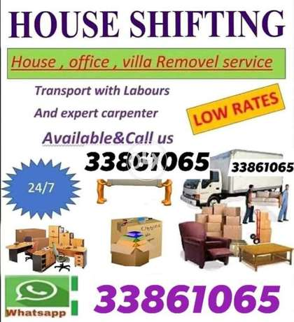 Villa flat office shifting All type of furniture
