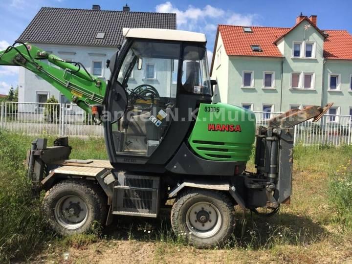 Hansa apz 531 gräberbager-vollautomatisch - 2005