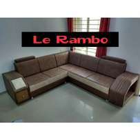 Cabined Leather Sofa Sets 1,300,000/- $375 Order Today If You Like It