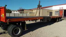 Flat - Deck Trailer with Dolly For Sale - Immaculate Condition