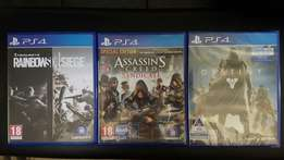 Playstation 4 Games for sale! PS4