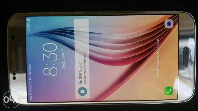 UK Used Samsung Galaxy S6 Ikeja - image 1