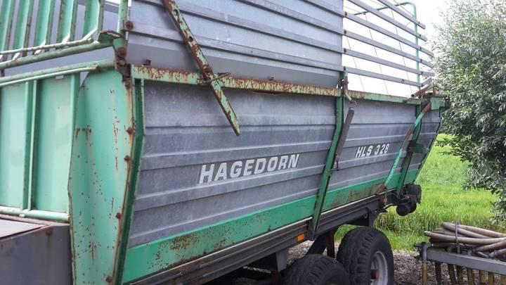 HAGEDOORN HSL 328 self-loading wagon - 1986
