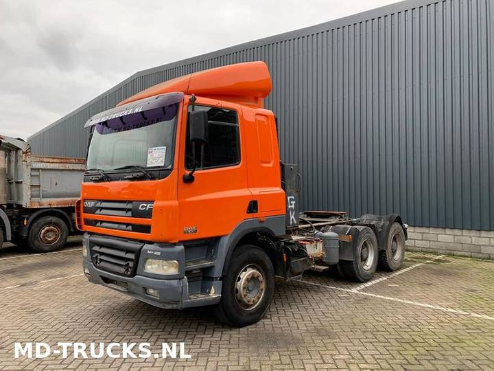 DAF CF 85 430 6x4 manual full steel - 2007