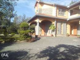 5 bedroom house plus dsq on 1/4 acre for rent in nkoroi rongai