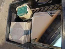 Glass and Mirror tiles