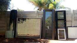 Sliding doors and stacable doors