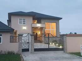 Four (4) Bedrooms( En suite) with swimming pool at East Legon