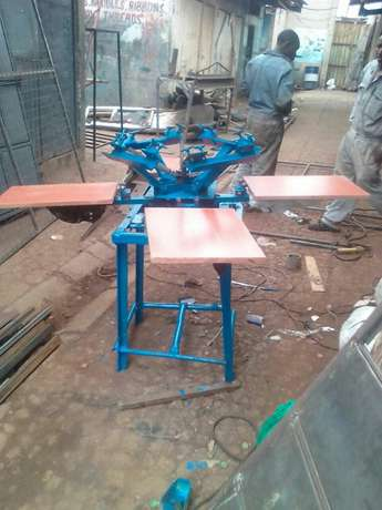 Four Hand Screen Printing Machine Makadara - image 1