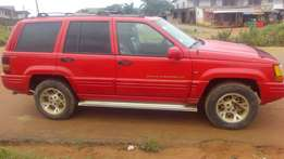 Grand Cherokee jeep for sell at affordable price tag