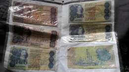 Old SA money R2 and R5 NOTES!!!