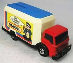 Matchbox SuperKings Security Truck - Lesney England 1978