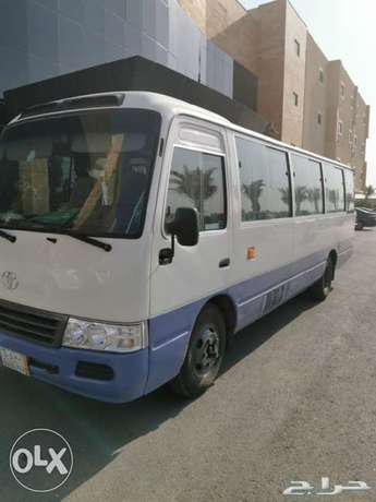 30 seater Bus coaster are available for rent with Driver
