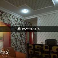 For perfect wallpaper finishing, call Fracan Wallpapers Ltd Now.