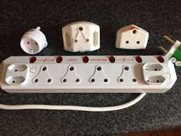 8 Multiplug + Adapters