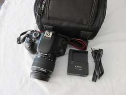 Canon EOS 600D SLR Camera with EF-S 18-55 Canon lens