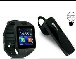 smart watch + bluetooth headset