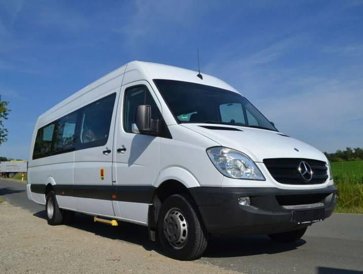 Mercedes-Benz Sprinter 516 Transfer 55 EEV / 23 Sitze / Klima - 2011
