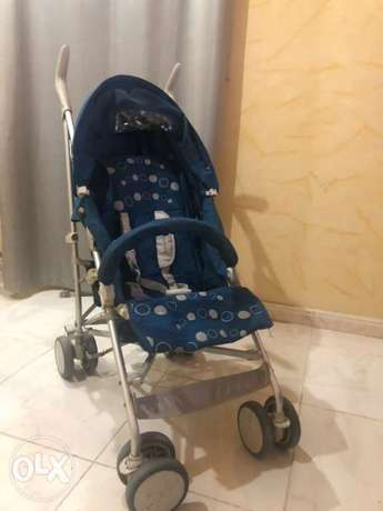 Giggles Porter - 3 Fold stroller with swivel wheels جدة -  1