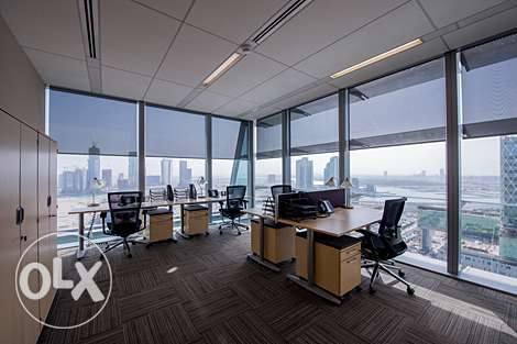 Qatar's 5 star Luxurious Premium Serviced Office مطار الدوحة -  1