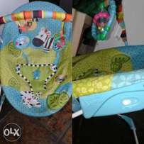 bright star baby play chair
