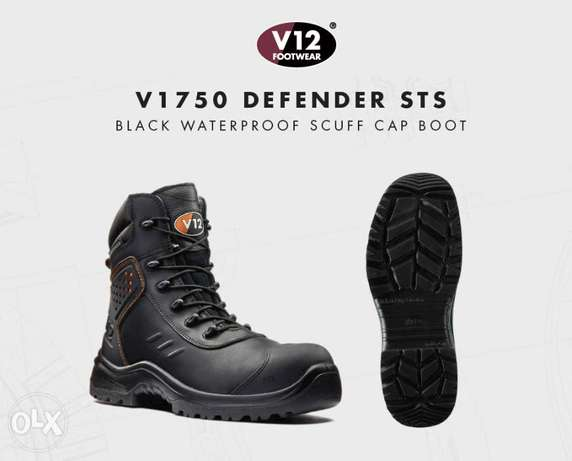 Defender STS Black S3 AN WR SRC Waterproof Safety Boot
