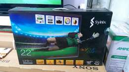 22 inches led synix digital tv