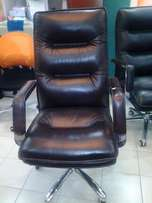 New Pure Leather Executive Chair