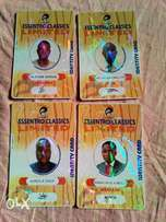 Identity Card Prints with Unique effects