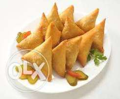 Delicious Samosa, Beef/Vegetarian, Spicy/non-spicy, Raw/Cooked