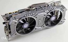 White overclocked Nvidia GTX 780 Hall of Fame Mining Edition graphic