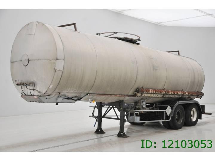 Trailor Tank 29000 liter - 1984