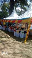 smart tents,tables,chars and decor