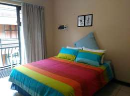 Fully furnished modern Bachelor flat to rent at Bains Game Lodge.